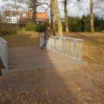 Goldsteinpark - neue Bruecke Dez2016